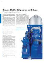 ANDRITZ Krauss-Maffei SZ pusher centrifuge - 12