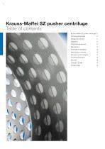 ANDRITZ Krauss-Maffei SZ pusher centrifuge - 2