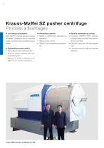 ANDRITZ Krauss-Maffei SZ pusher centrifuge - 4