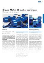 ANDRITZ Krauss-Maffei SZ pusher centrifuge - 5