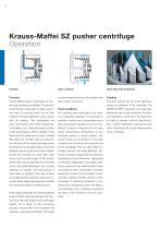 ANDRITZ Krauss-Maffei SZ pusher centrifuge - 6