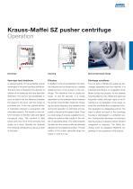 ANDRITZ Krauss-Maffei SZ pusher centrifuge - 7
