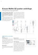 ANDRITZ Krauss-Maffei SZ pusher centrifuge - 8