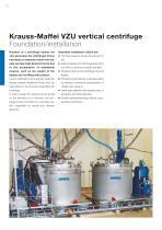 ANDRITZ Krauss-Maffei VZU vertical centrifuge - 10