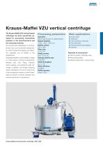 ANDRITZ Krauss-Maffei VZU vertical centrifuge - 3