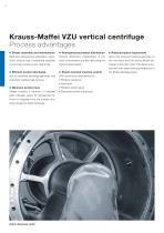ANDRITZ Krauss-Maffei VZU vertical centrifuge - 4