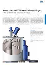 ANDRITZ Krauss-Maffei VZU vertical centrifuge - 5