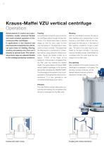 ANDRITZ Krauss-Maffei VZU vertical centrifuge - 6