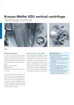 ANDRITZ Krauss-Maffei VZU vertical centrifuge - 8