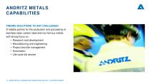 ANDRITZ METALS presentation - 13