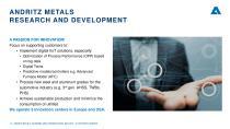 ANDRITZ METALS presentation - 14