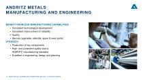 ANDRITZ METALS presentation - 15