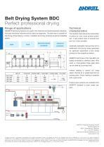 Belt Drying System BDC - 2
