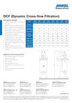 DCF crossflow filter for beverages - 2