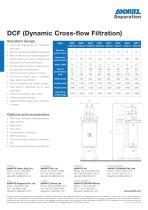 DCF crossflow filter for dairy - 2