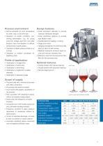 DCF crossflow filter for wine - 3