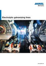 Electrolytic galvanizing lines - 1