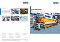 Filterpresses, side-bar design - 1