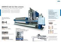 Filterpresses, side-bar design - 2