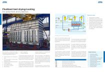 Fluidized bed drying system for polymers and plastics - 2
