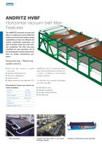 Horizontal vacuum belt filter - 2