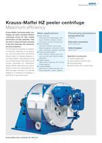 Krauss-Maffei HZ peeler centrifuge - 3
