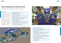 Processing lines and rolling mills for aluminum - 5