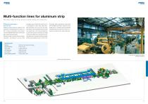 Processing lines and rolling mills for aluminum - 6