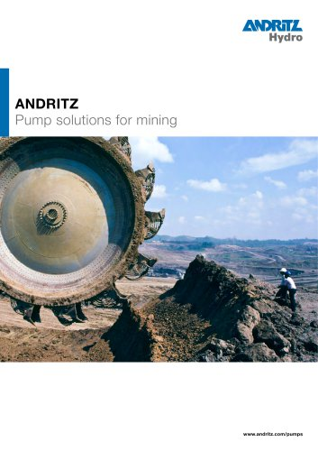 Pump solutions for mining