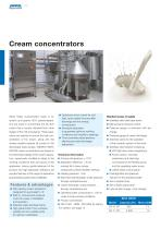 Separators for the dairy industry - 10