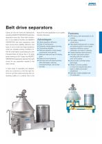 Separators for the dairy industry - 3