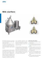 Separators for the dairy industry - 4
