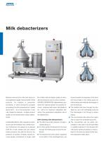 Separators for the dairy industry - 6