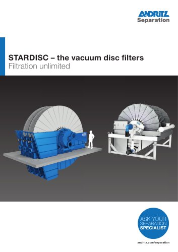 STARDISC – the vacuum disc filters