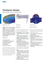 Thickening, clarification, CCD Circuits, paste technology - 2