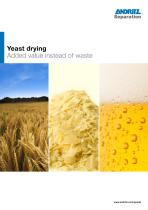 Yeast drying - 1