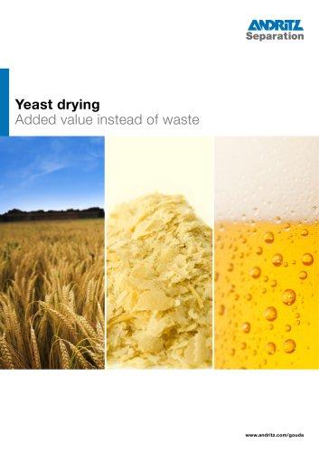 Yeast drying