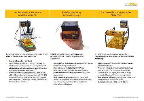 LAMBDA Laboratory Instruments