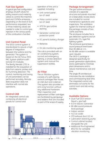 GE10-1 Gas Turbine - GE Gas Turbines - PDF Catalogs
