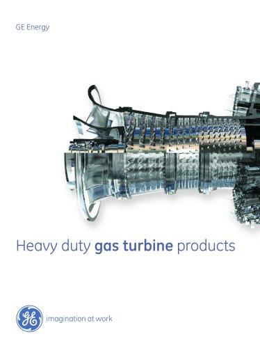 Heavy Duty Gas Turbine Products - GE Gas Turbines - PDF