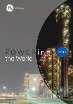 Powering the world 2016