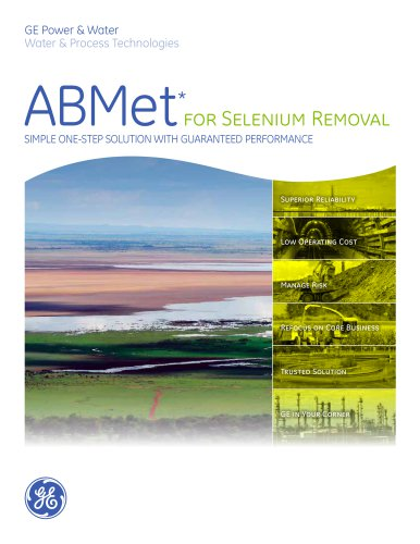 ABMet for Selenium Removal