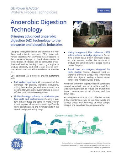 Anaerobic Digestion Technology