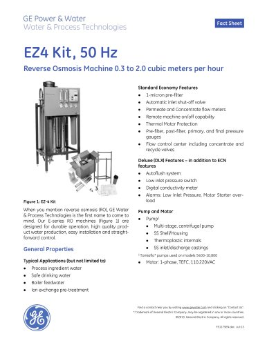EZ-4 Kit 50 Hz