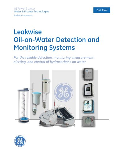 Leakwise* Oil-on-Water Monitoring & Detection
