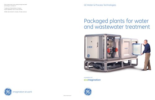 Packaged Systems for Water and Wastewater Treatment