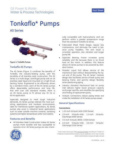 Tonkaflo Pumps AS Series