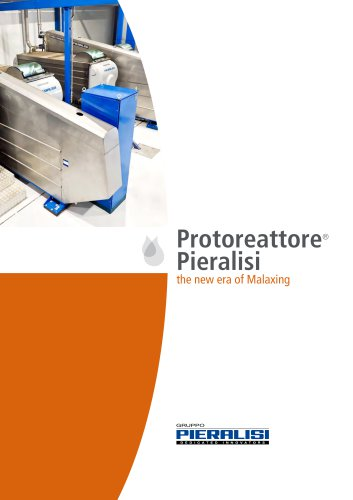 Protoreattore® Pieralisi - The new era of Malaxing