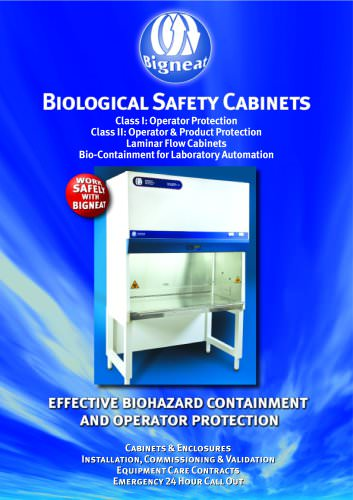 Biological Safety Cabinets Class I