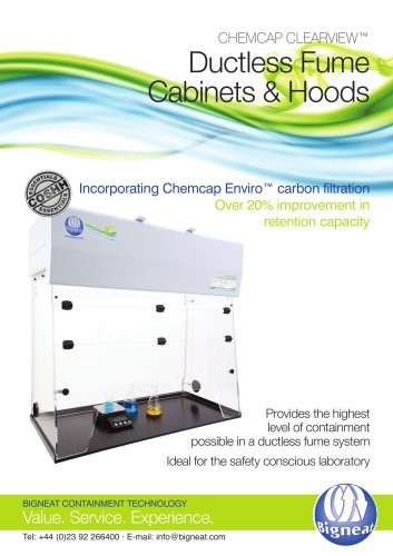 Ductless Fume Cabinets & Hoods
